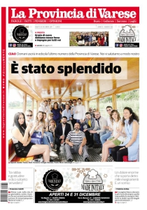 La Provincia Editoriale Spa - VirtualNEWSPAPER